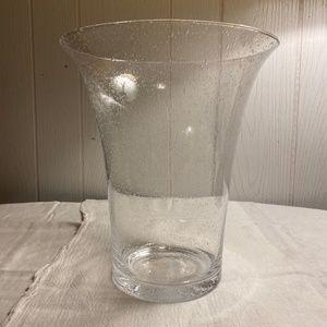 NIB Partylite Garden Sanctuary Glass Hurricane
